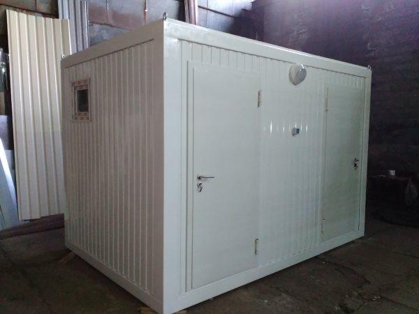 Санитарный модуль,  монтаж  санитарных  контейнеров под ключ