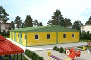 Модульные детские учреждения