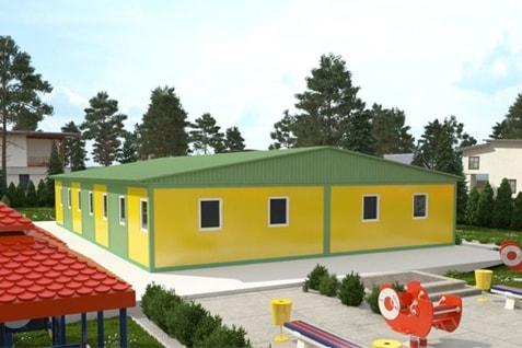 Модульные детские сады