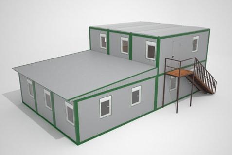 Модульные мини-гостиницы