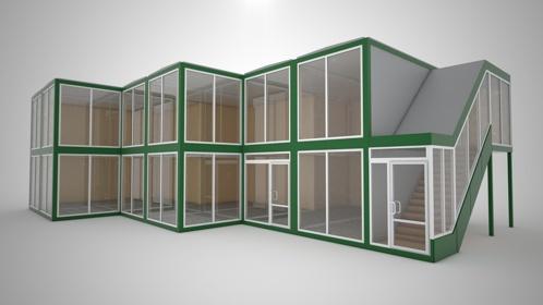 Модульные бизнес центры