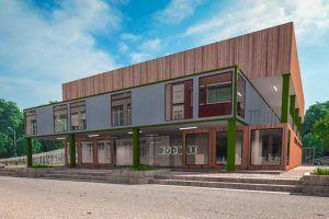 Модульные здания для бизнеса