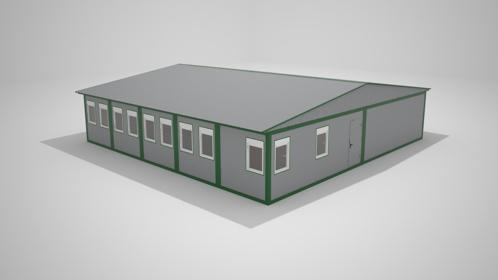 Быстровозводимые модульные склады