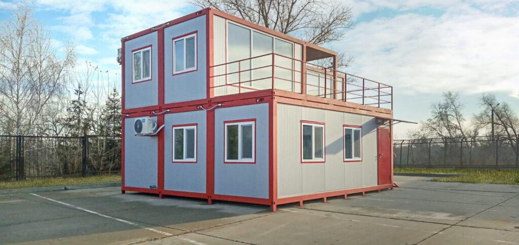 Модульный офис 116 м2