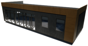 Модульный офис 73 м2