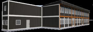 Модульный офис 350 м2