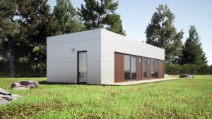 Модульный дом 58 м2