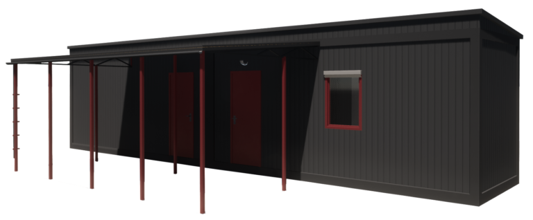 Модульный дом 29.2 м2 (5932-К2-М)