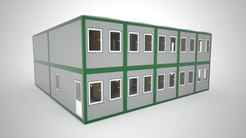 Жилое модульное здание
