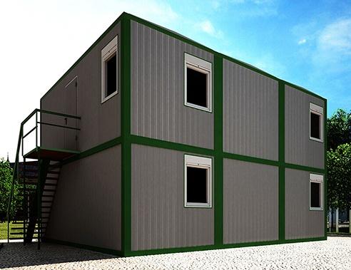 Модульный офис 90 м2